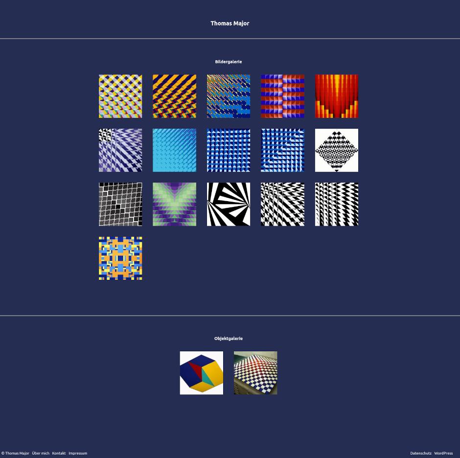 Thomas Major - freischaffender Designer und Maler